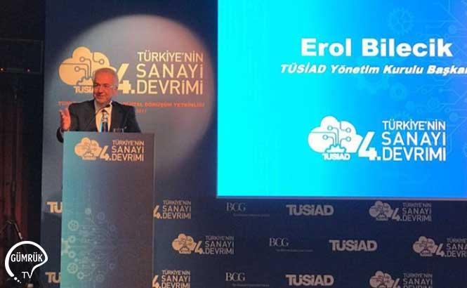 TÜSİAD Başkanı: Dolar 4.0'ı Geride Bırakmanın Yolu Sanayi 4.0'ı Yakalamak