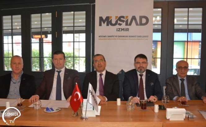 MÜSİAD İzmir, Lojistik Sektörünü Masaya Yatırdı