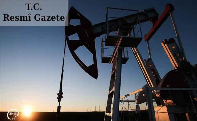 Petrol Ürünlerinin İthali İhracı ve Transitine İlişkin Değişlik