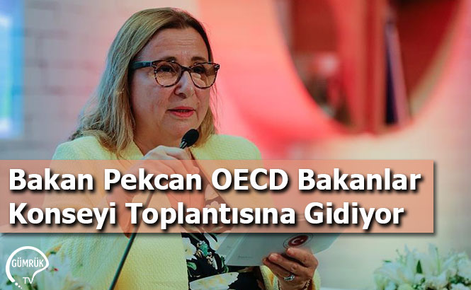 Bakan Pekcan OECD Bakanlar Konseyi Toplantısına Gidiyor