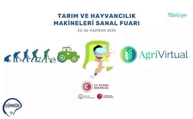 AgriVirtual-Tarım ve Hayvancılık Makineleri Sanal Fuarı Pazartesi Açılıyor