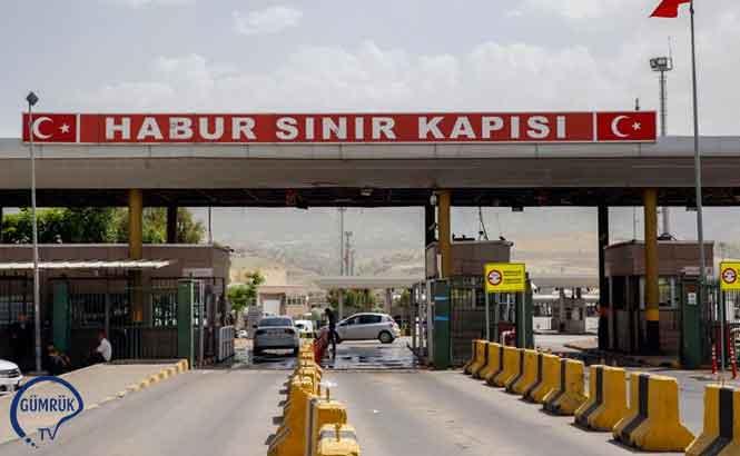 Habur- İbrahim Halil Sınır Kapısı Tır Geçişine Açıldı