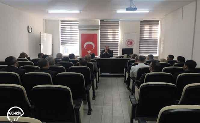 Orta Akdeniz Bölgesinde YGM Toplantısı