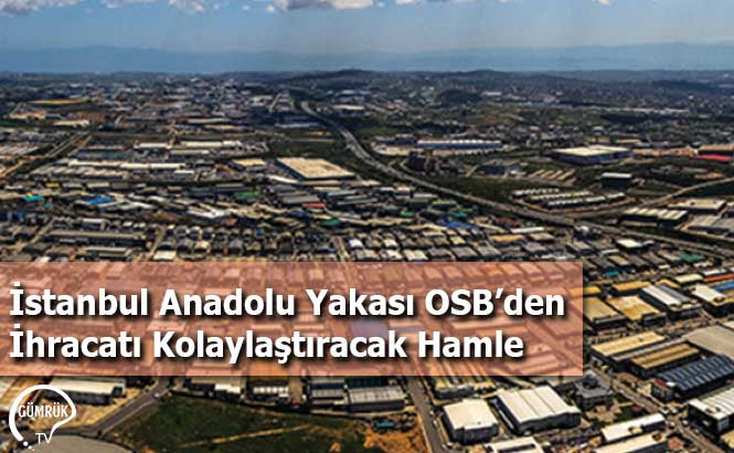 İstanbul Anadolu Yakası OSB'den İhracatı Kolaylaştıracak Hamle