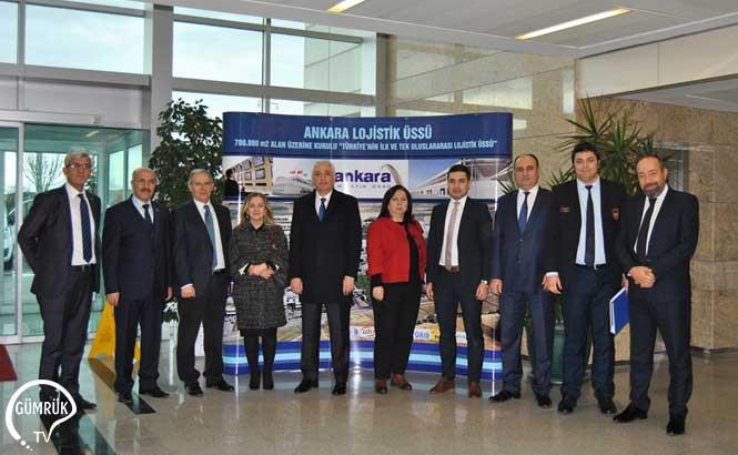Orta Anadolu Gümrük Bölge Müdürlüğü'nün İstişare Toplantılarının 2'ncisi Nakliyeci Firmalar ile Ankara Lojistik Üssü'nde Yapıldı