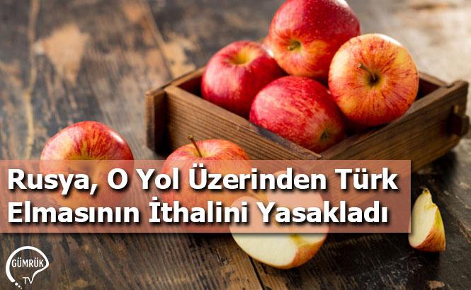 Rusya, O Yol Üzerinden Türk Elmasının İthalini Yasakladı