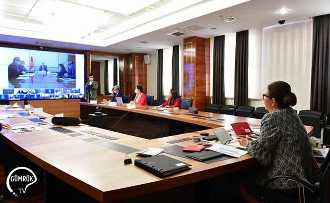 Türkiye Rusya Ticari İlişkileri Videokonferans Toplantısında Değerlendirildi