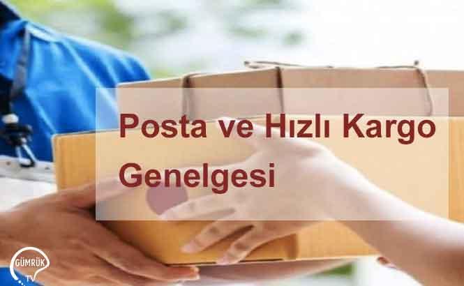 Posta ve Hızlı Kargo Genelgesi