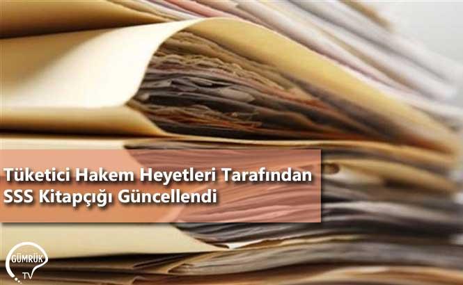 Tüketici Hakem Heyetleri Tarafından Sıkça Sorulan Sorular Kitapçığı Güncellendi