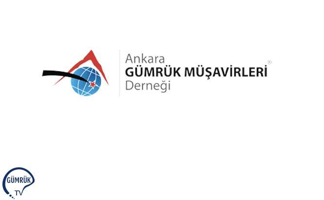 Ankara Gümrük Müşavirleri Derneğinden Ambar Çıkış İşlemleri Konusu