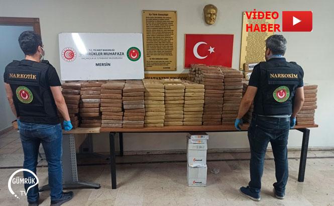 Mersin'de 463 Kilo Kokain Ele Geçirildi