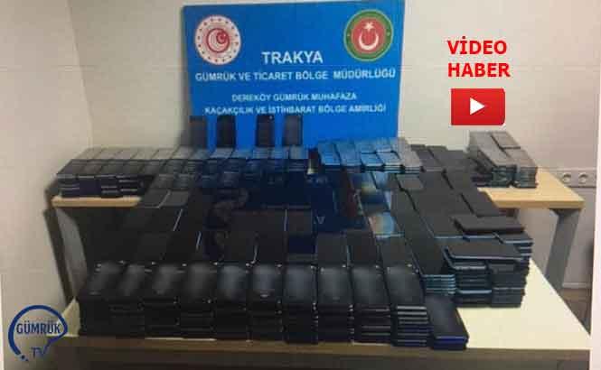Bulgaristan Sınırında Kaçak Cep Telefonu Operasyonu