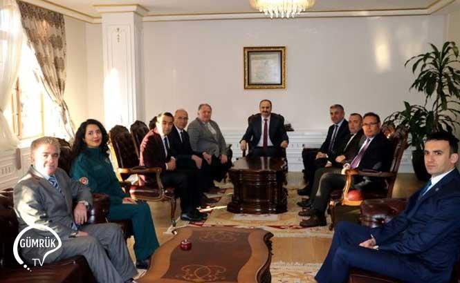 Edirne'de Dünya Gümrük Günü Töreni