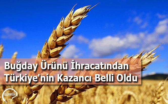 Buğday Ürünü İhracatından Türkiye'nin Kazancı Belli Oldu