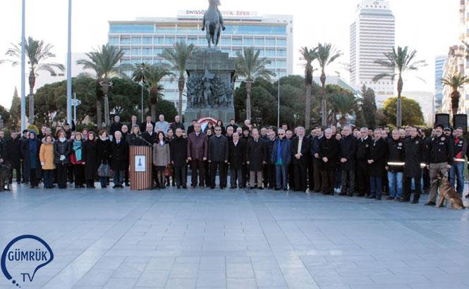 İzmir'de Dünya Gümrük Günü Kutlandı