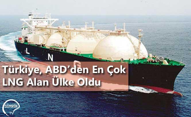 Türkiye, ABD'den En Çok LNG Alan Ülke Oldu
