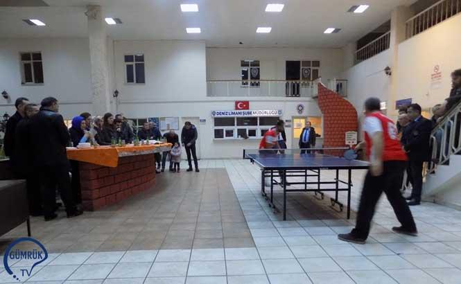 26 Ocak Dünya Gümrük Günü Etkinlikleri Kapsamında Orta Karadeniz Gümrük ve Ticaret Bölge Müdürlüğü Tenis Turnuvası Düzenlendi
