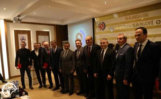 Samsun'da Dünya Gümrük Günü Etkinlikleri Kapsamında, En Fazla İhracat Yapan Firmalara Plaket Verildi