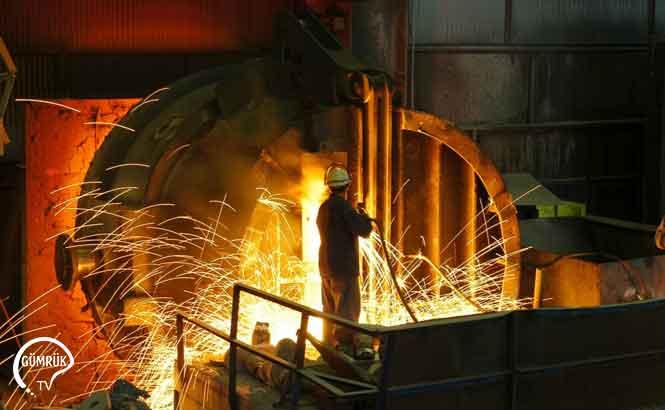 Küresel Çelik Üretimi Ekim Ayında Yıllık Yüzde 7 Arttı