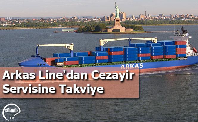 Arkas Line'dan Cezayir Servisine Takviye