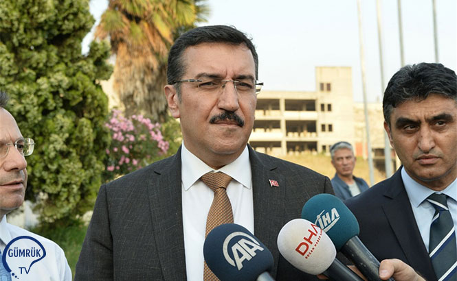 Gümrük ve Ticaret Bakanı Bülent Tüfenkci, Türkiye'nin Güneyindeki Gümrük Kapılarında Emniyet ve Denetimleri Artırdıklarını Söyledi