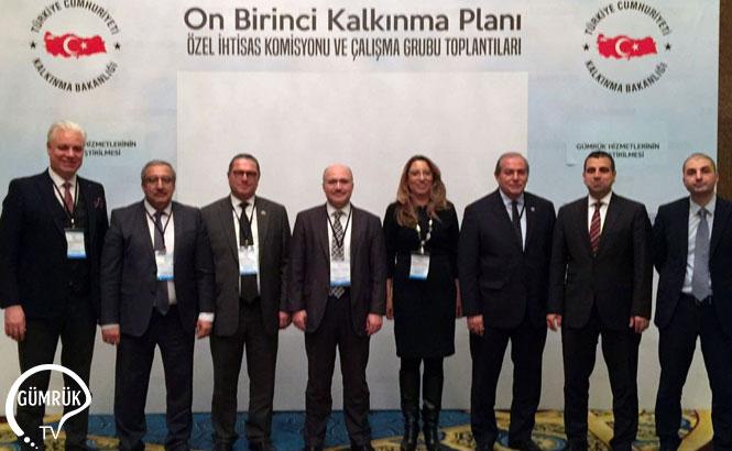 11'inci Kalkınma Planı Hazırlıkları Kapsamında 'Gümrük Hizmetlerinin İyileştirilmesi Çalışma Grubu' Toplantısı