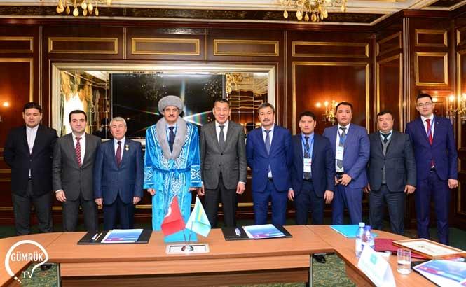 Türkiye- Kazakistan Gümrük İdareleri Başkanları Toplantısı Yapıldı
