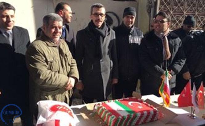Kapıköy Gümrük Müdürlüğü ile İran Heyetinden Ortak Kutlama