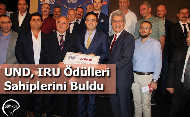 UND, IRU Ödülleri Sahiplerini Buldu