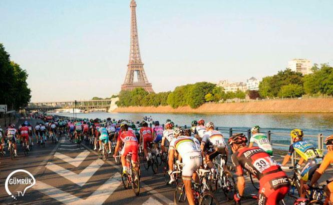 Fransa'da Bisiklet Turu Sebebiyle Bazı Yollar Trafiğe Kapalı Olacak
