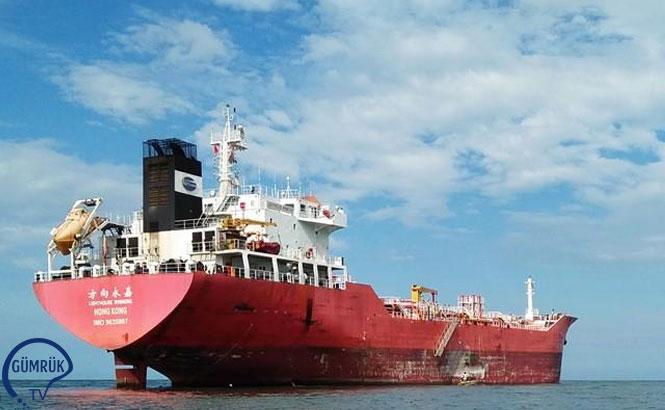 Gümrük Yetkilileri, Kuzey Kore'ye Petrol Taşıyan Gemiye El Koydu