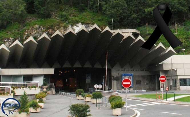Mont Blanc Tünelinde Bakım