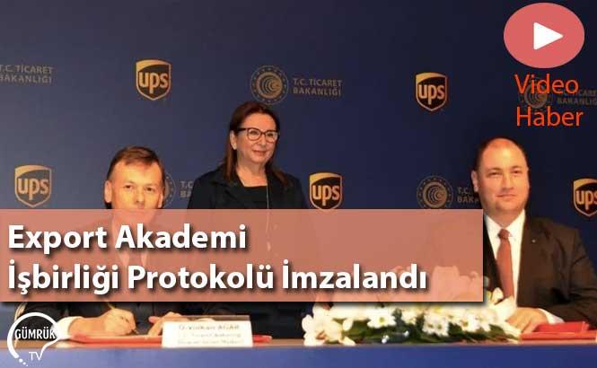 Export Akademi İşbirliği Protokolü İmzalandı