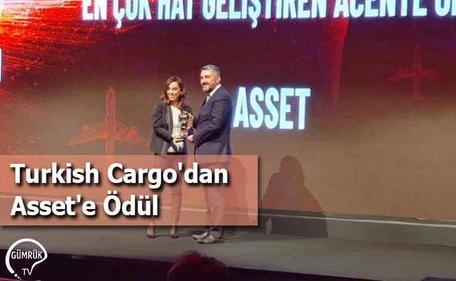 Turkish Cargo'dan Asset'e Ödül