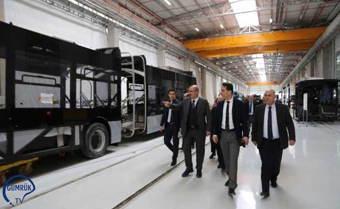 ATO Başkanı Baran, Türkiye'nin İlk İhraç Edilecek Metro Araçlarını İnceledi