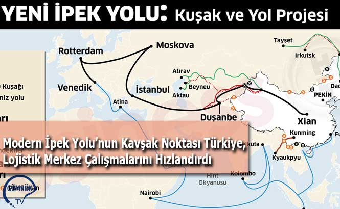 Modern İpek Yolu'nun Kavşak Noktası Türkiye, Lojistik Merkez Çalışmalarını Hızlandırdı