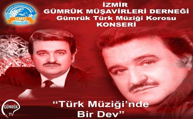 Gümrük Türk Müziği Korosu Yıldırım Gürses Konseri