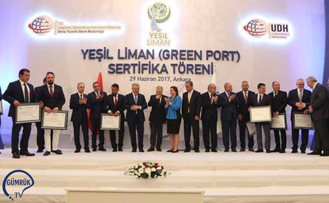 Türk Limanları 'Yeşil Liman / Eko Liman' Atağında