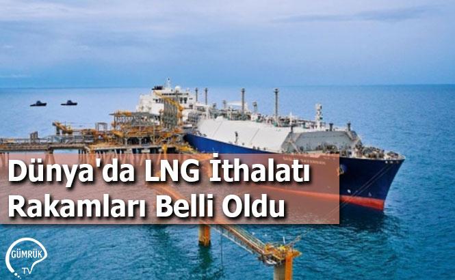 Dünya'da LNG İthalatı Rakamları Belli Oldu