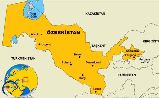 Özbekistan'dan Uluslararası Taşımacılık İçin Geçici Prosedür