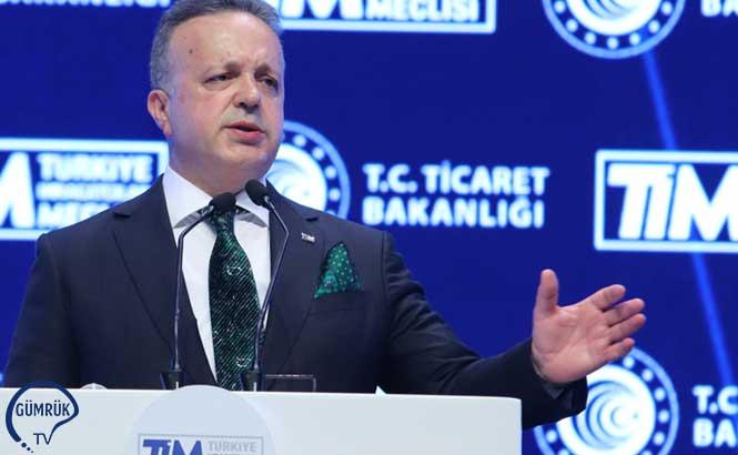 TİM Başkanı Gülle Dış Ticaret Rakamlarını Değerlendirdi