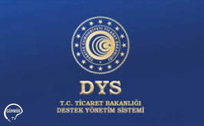 Dahilde İşleme-Hariçte İşleme İzin Başvuruları-DYS Sistemi Hakkında