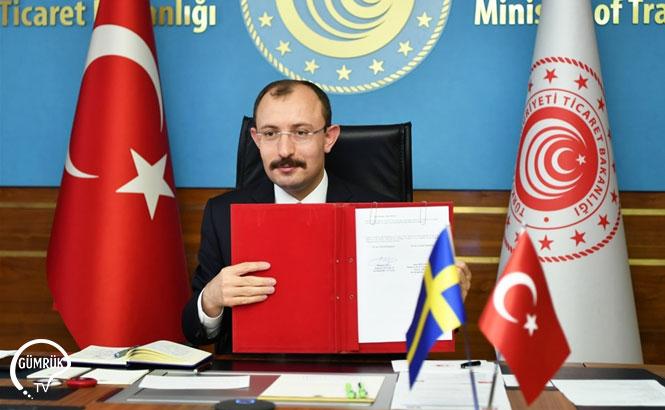 Türkiye ile İsveç Arasında JETCO Protokolü İmzalandı