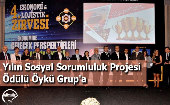 Yılın Sosyal Sorumluluk Projesi Ödülü Öykü Grup'a