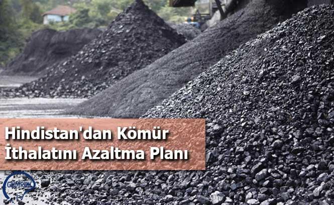 Hindistan'dan Kömür İthalatını Azaltma Planı