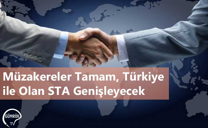 Müzakereler Tamam, Türkiye ile Olan STA Genişleyecek