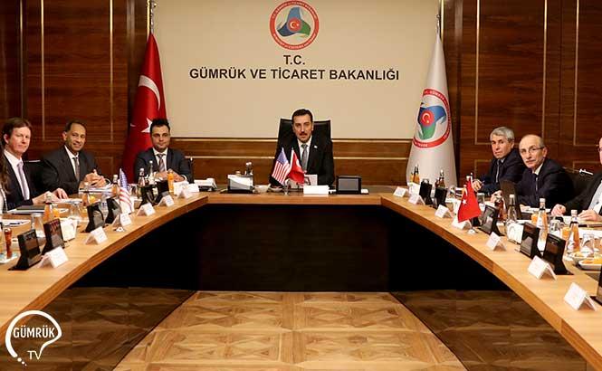 Bakan Tüfenkci, ABD Ticaret Odası Heyetiyle Görüştü