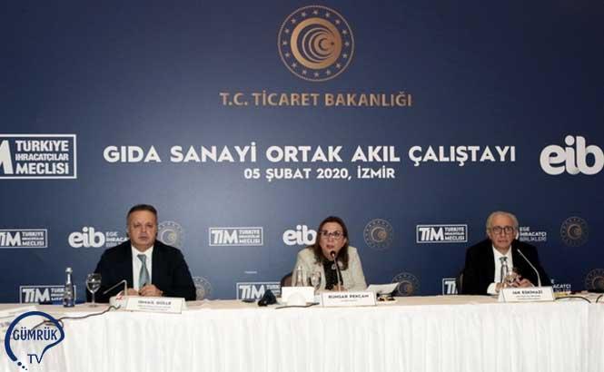 Ticaret Bakanı Ruhsar Pekcan'dan Gıda İhracatçılarına Açık Çek