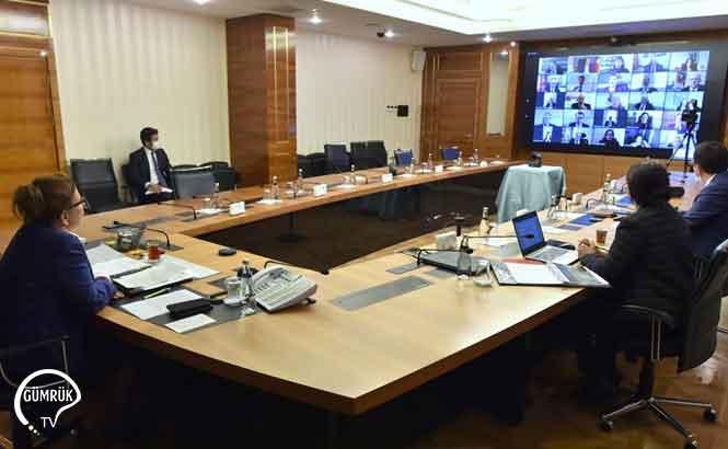 Ruhsar Pekcan Yurtdışı Temsilcileriyle Online Toplantı Yaptı