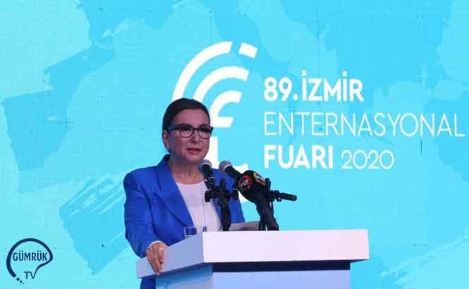 Ticaret Bakanı Ruhsar Pekcan, İzmir Fuarı'nın Açılışına Katıldı